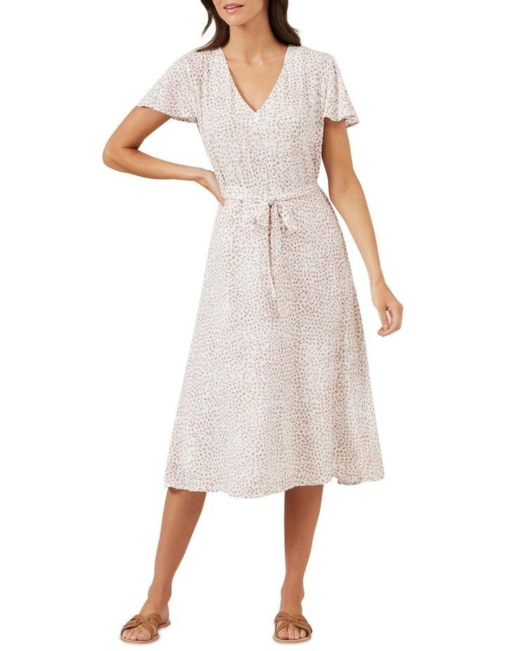 Ditsy Floral Midi Dress image 1