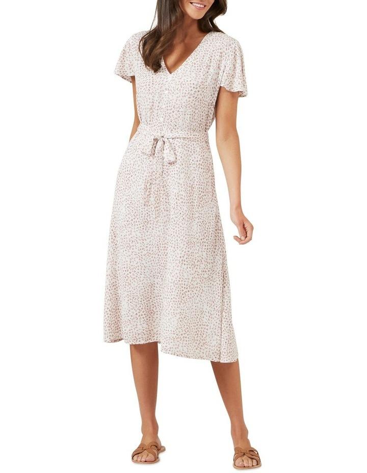 Ditsy Floral Midi Dress image 2