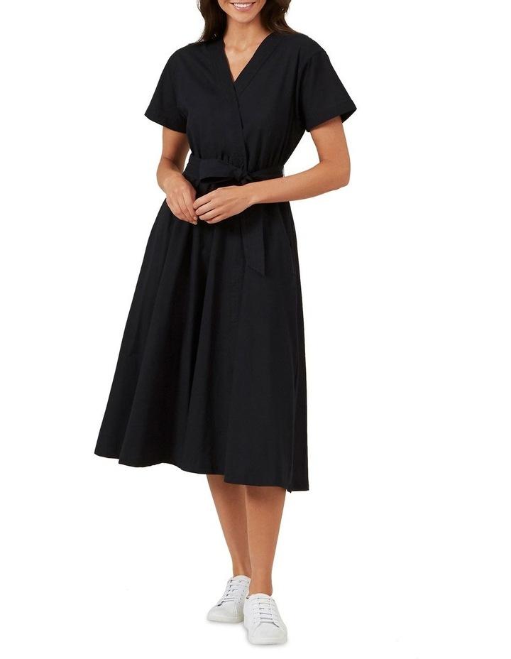 Cross Front Midi Dress image 1