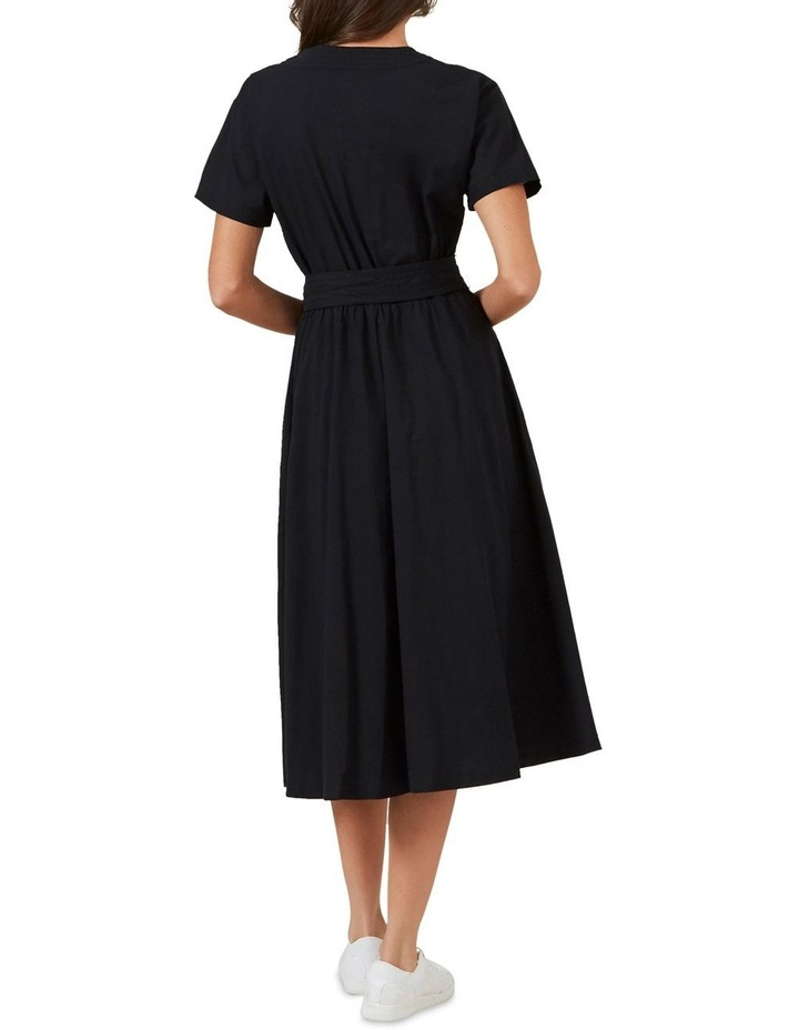 Cross Front Midi Dress image 3