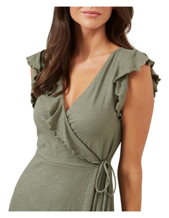 Jersey Wrap Dress image 4