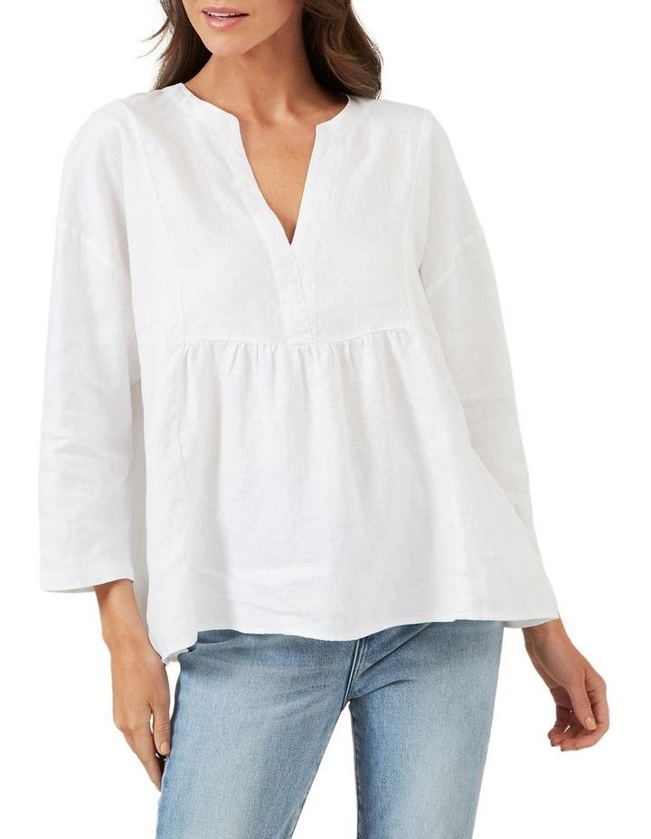 Babydoll Linen Shirt image 1