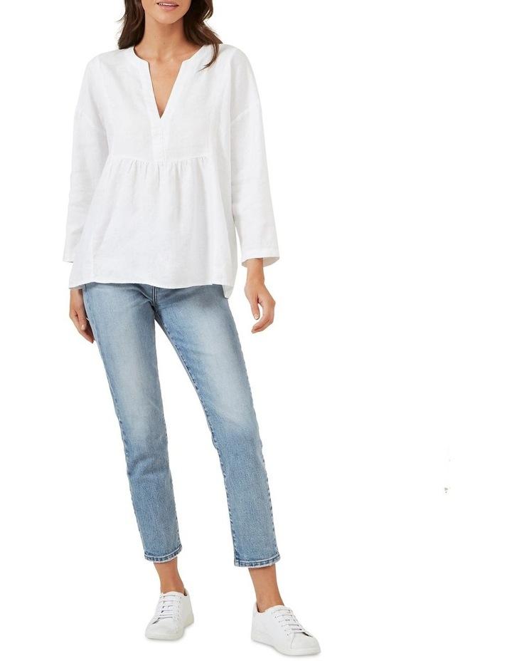 Babydoll Linen Shirt image 2