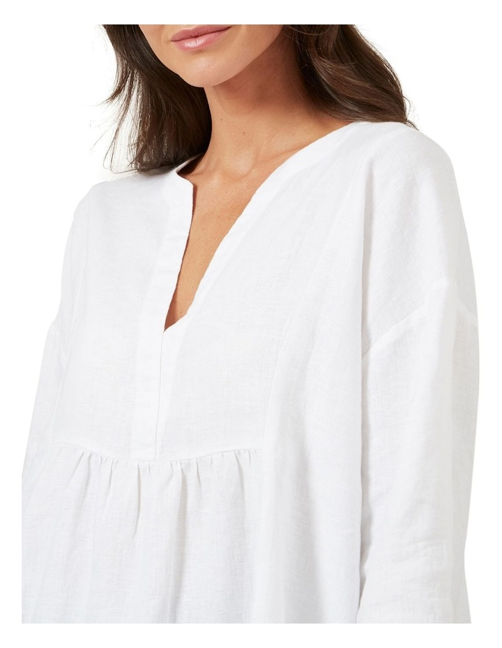 Babydoll Linen Shirt image 4