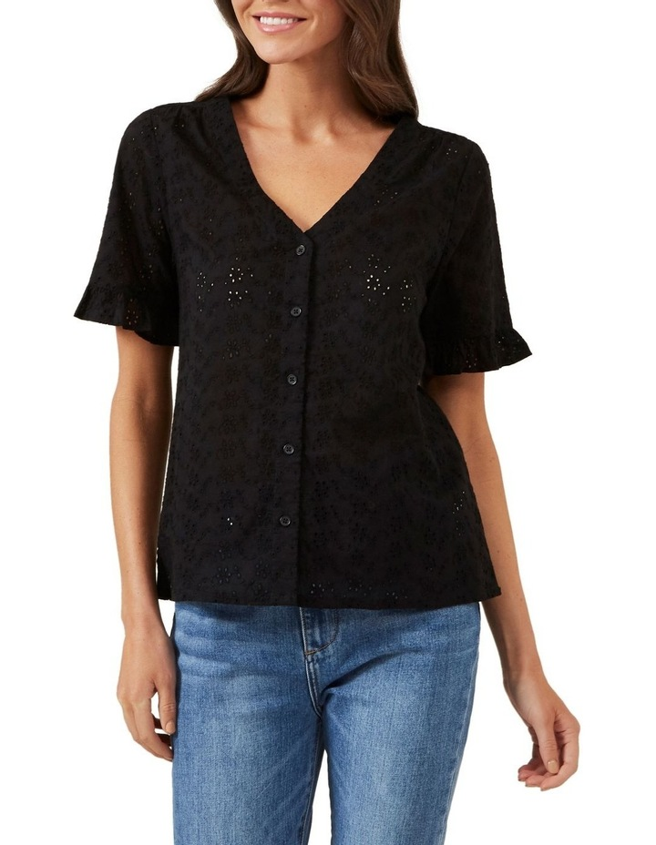 Broderie Button Down Shirt image 1