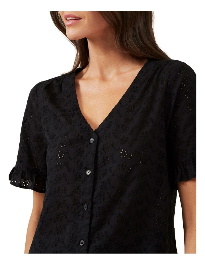 Broderie Button Down Shirt image 4