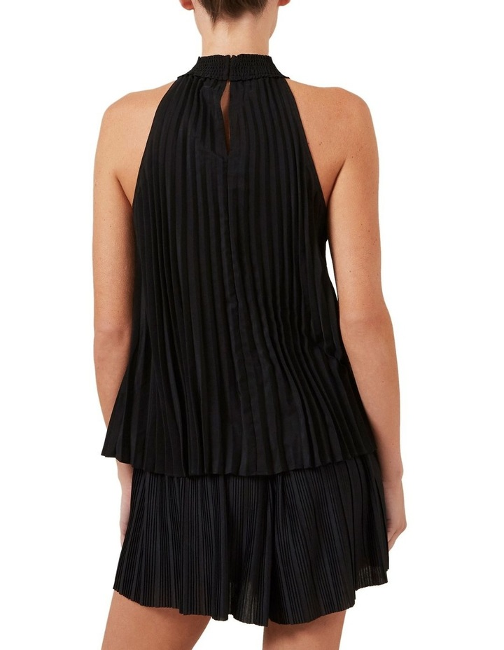High Neck Pleated Top image 3