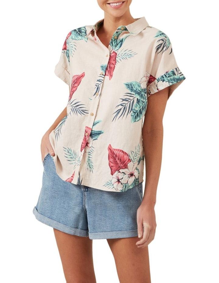 Tropics Linen S/S Shirt image 1