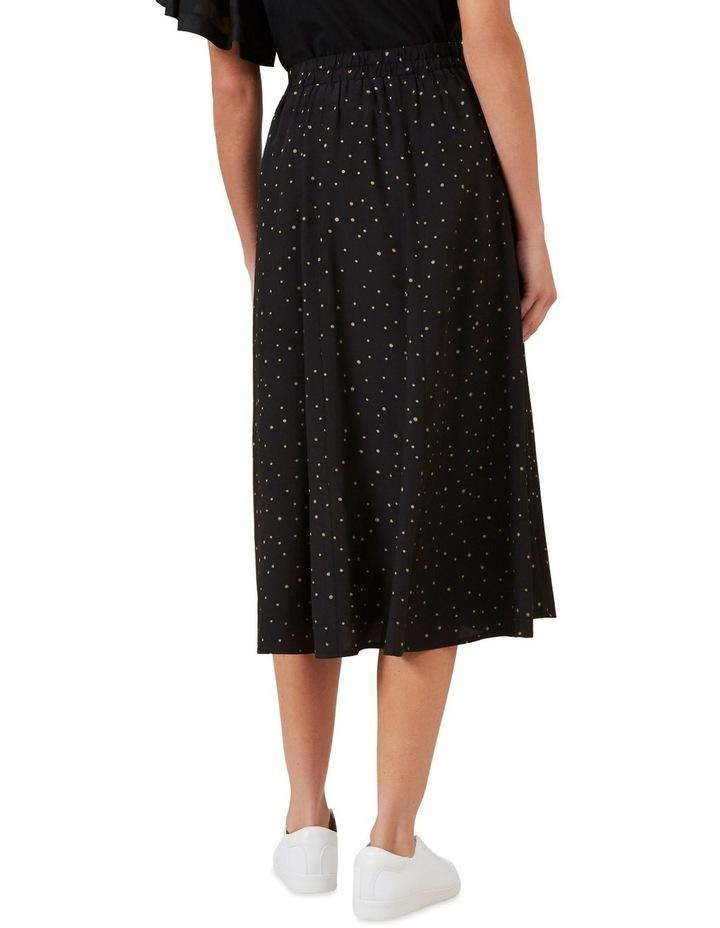 Polka Panelled Midi Skirt image 3