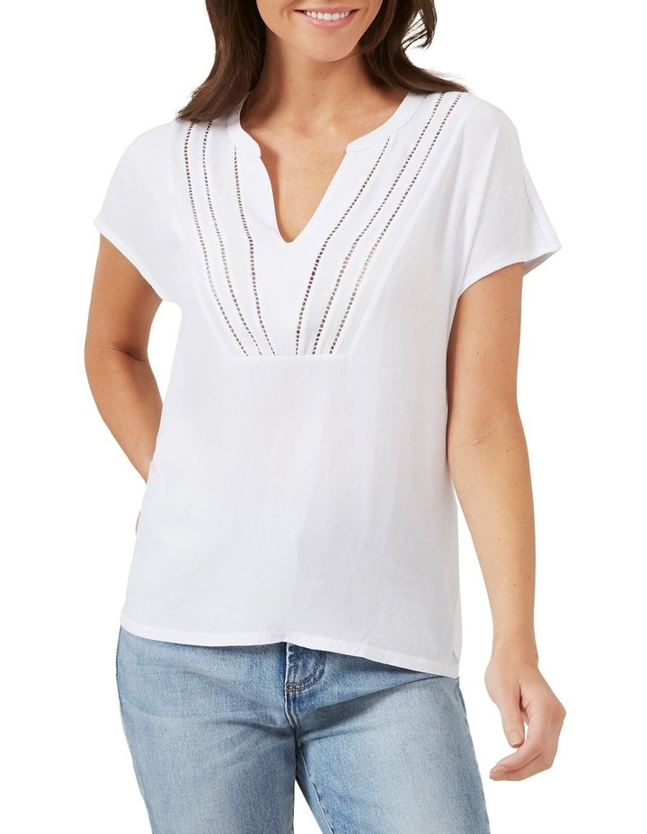 V Neck Relaxed Tee image 1