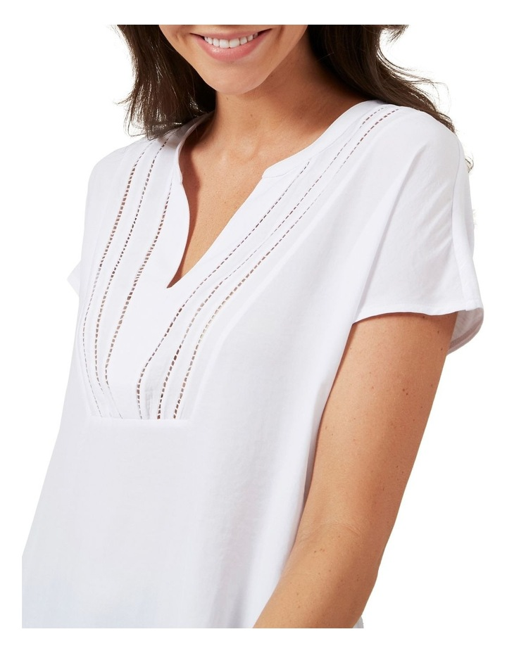 V Neck Relaxed Tee image 3