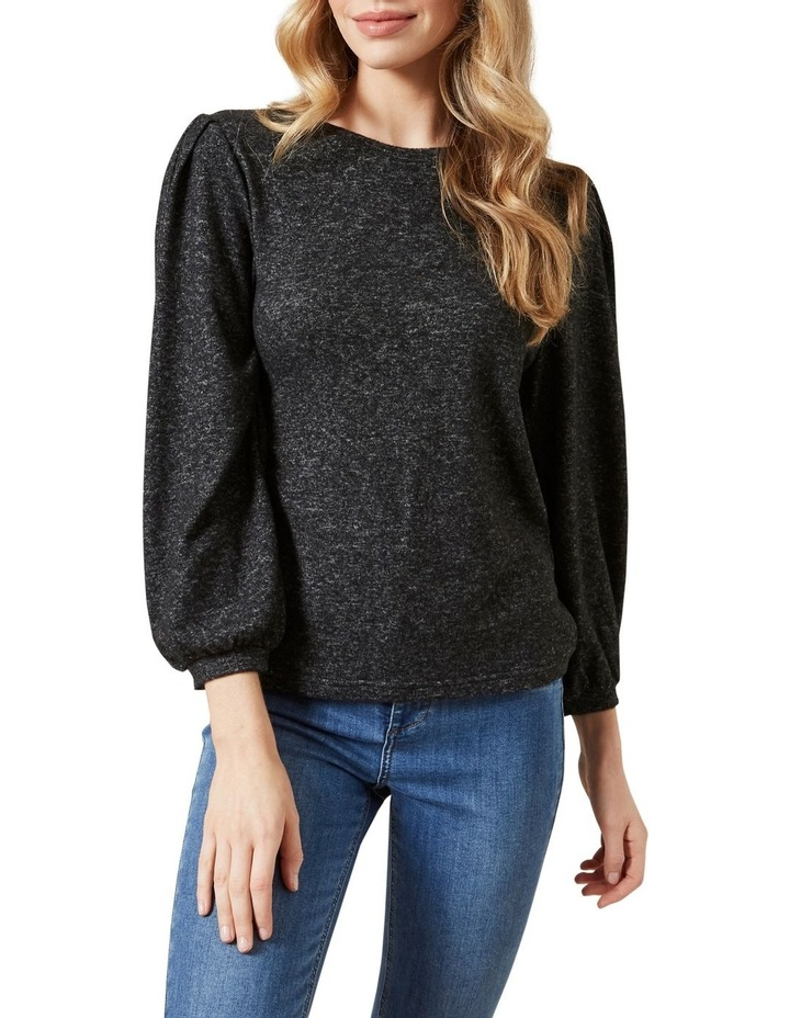 Fluffy Puff Sleeve Top image 1