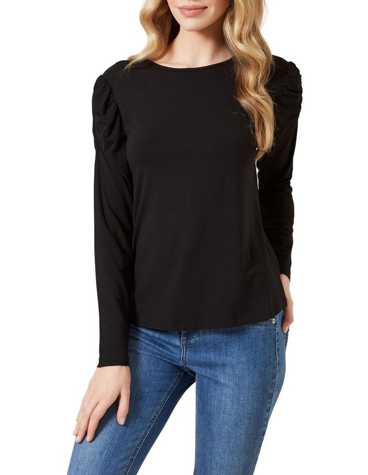 Rouched Sleeve T0 P image 1