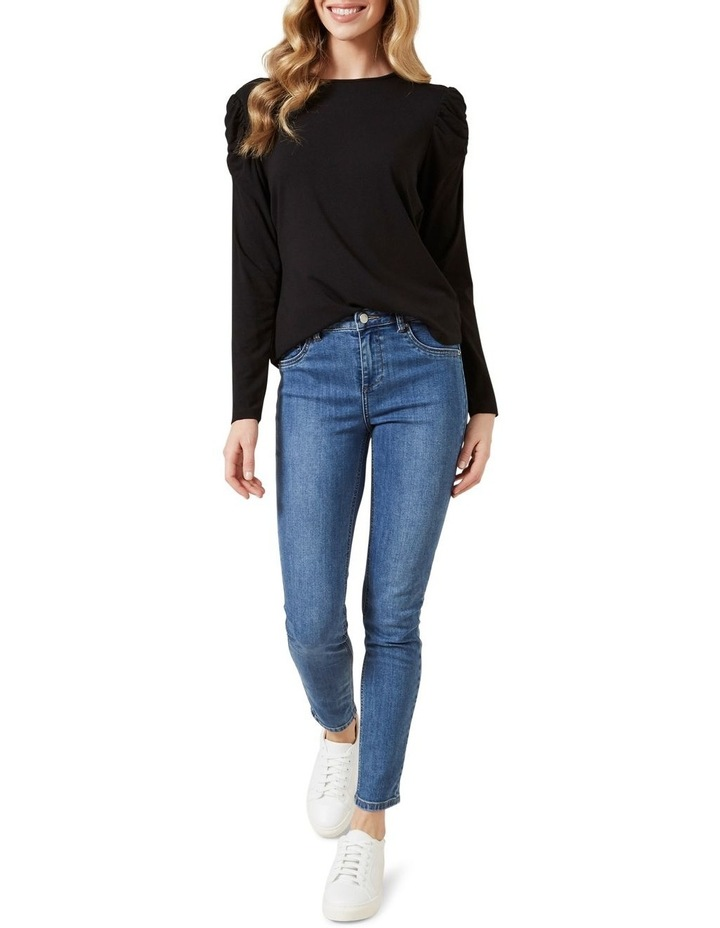 Rouched Sleeve T0 P image 2