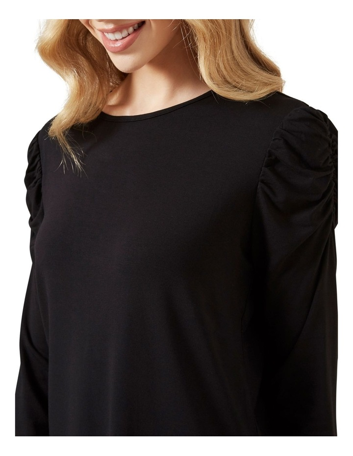 Rouched Sleeve T0 P image 4