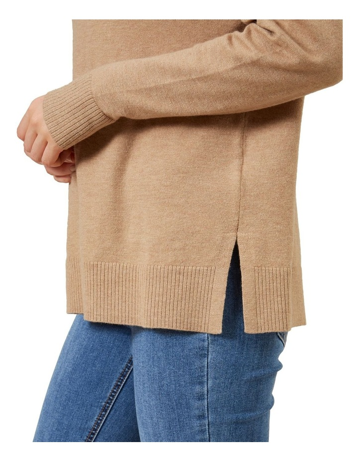 High Neck Geo Knit image 4