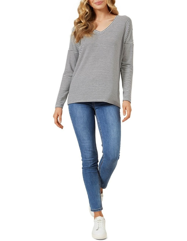 Soft V Neck Long Sleeve image 2