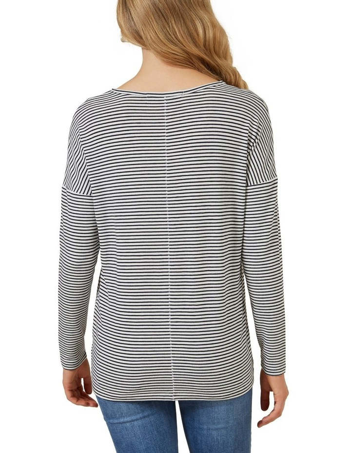 Soft V Neck Long Sleeve image 3