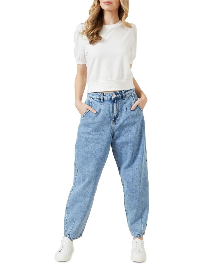 High Waist Tapered Jean image 2