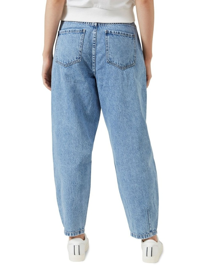 High Waist Tapered Jean image 3