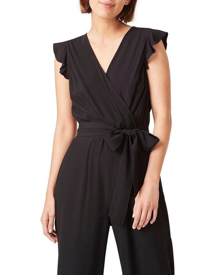 Frill Sleeve Wrap Jumpsuit image 4