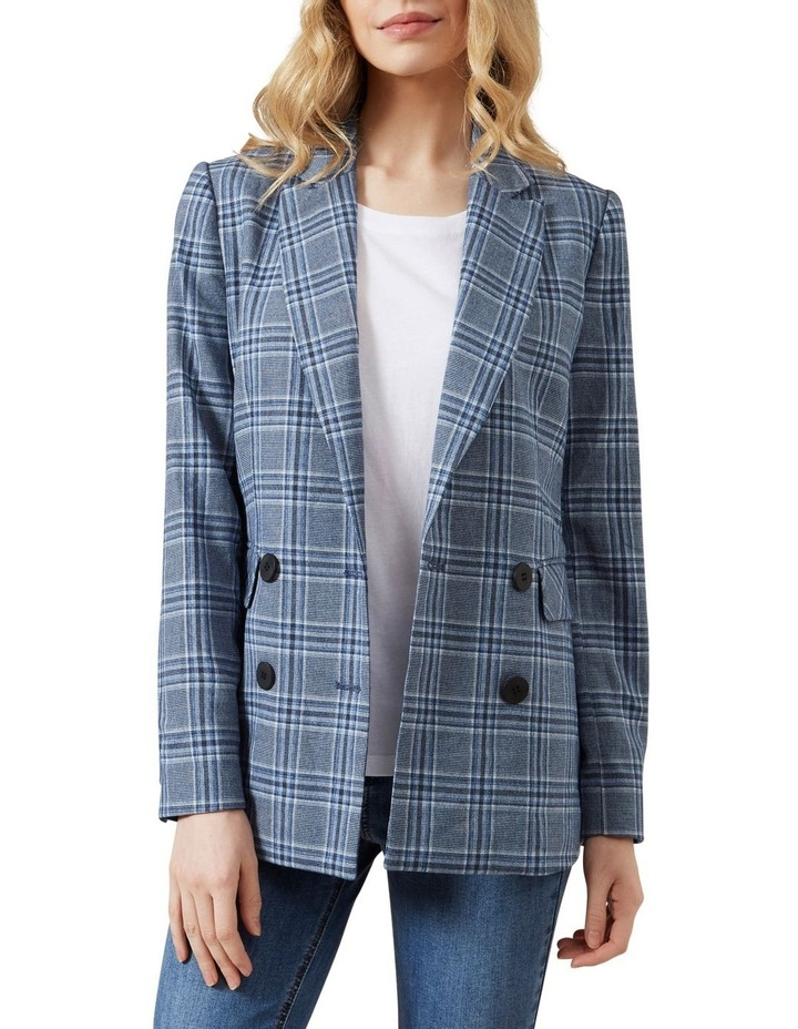 Relaxed Check Blazer image 1