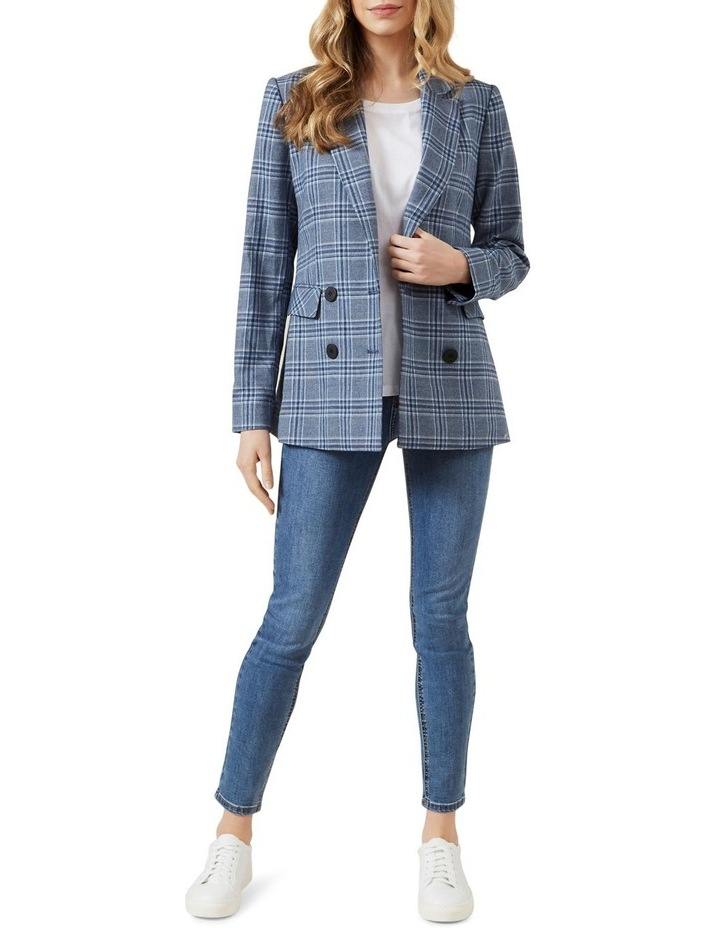 Relaxed Check Blazer image 2