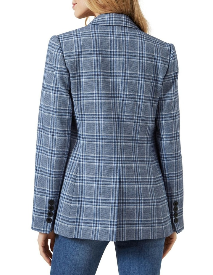 Relaxed Check Blazer image 3