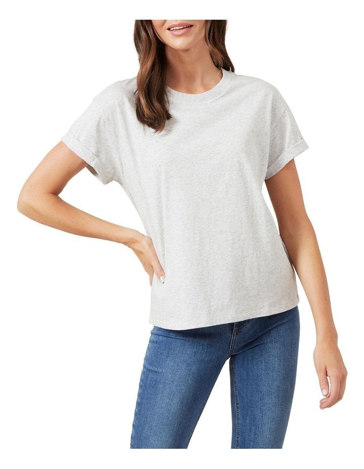 Boyfriend Crew Neck T Shirt image 1