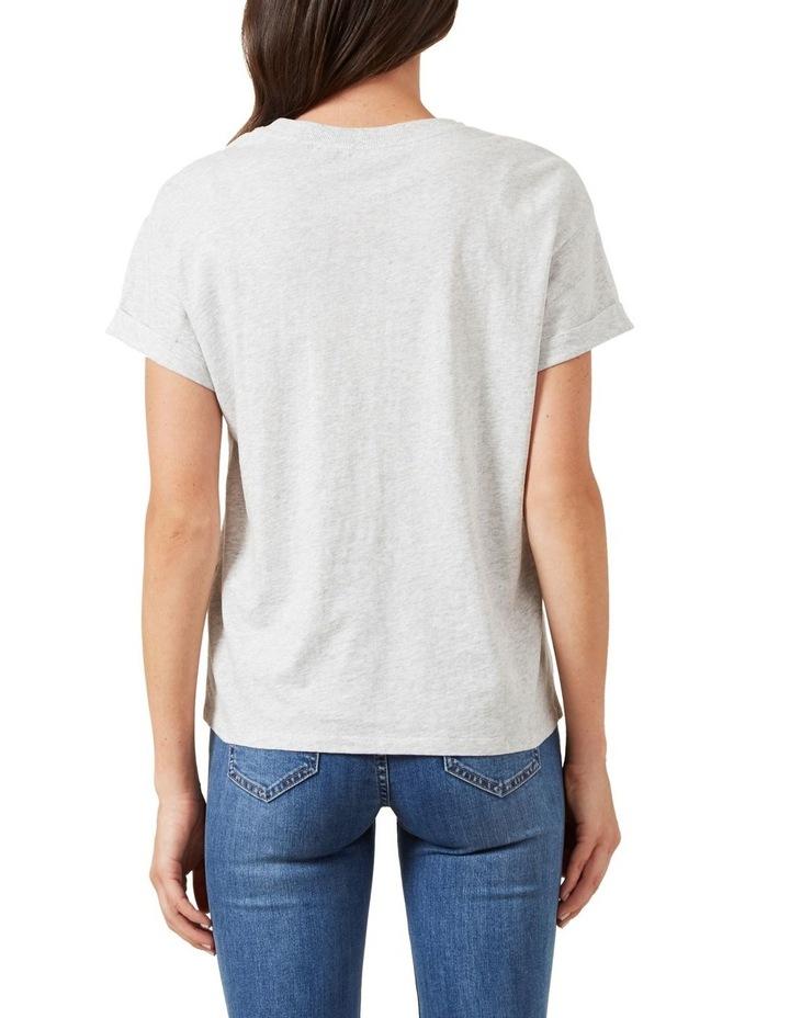 Boyfriend Crew Neck T Shirt image 3