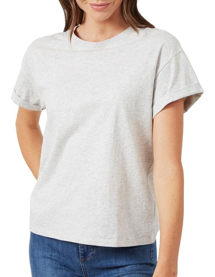 Boyfriend Crew Neck T Shirt image 4