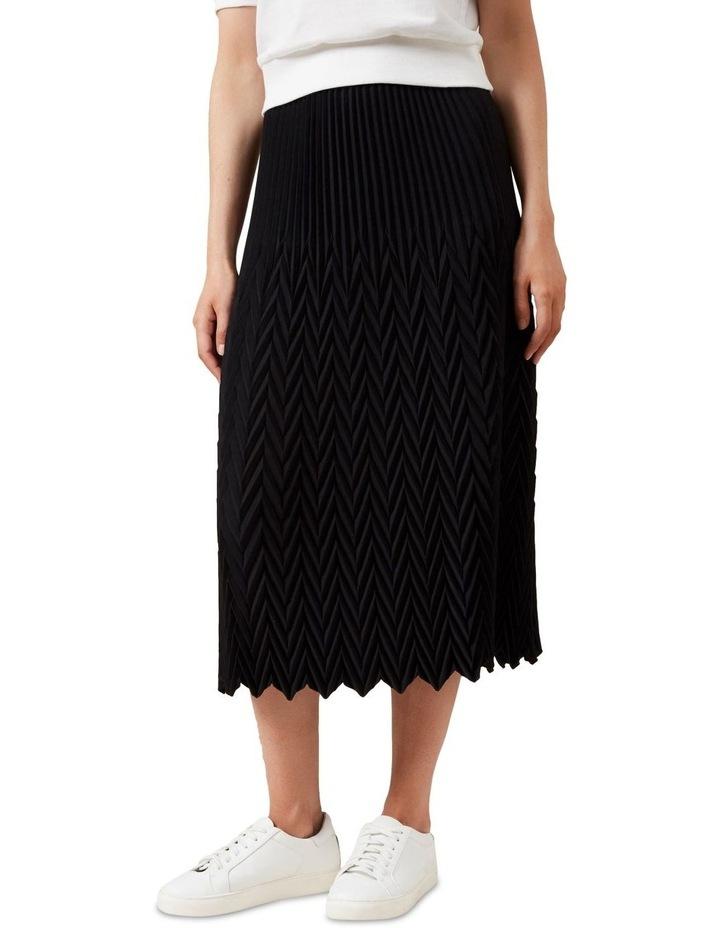 Chevron Midi Skirt image 1