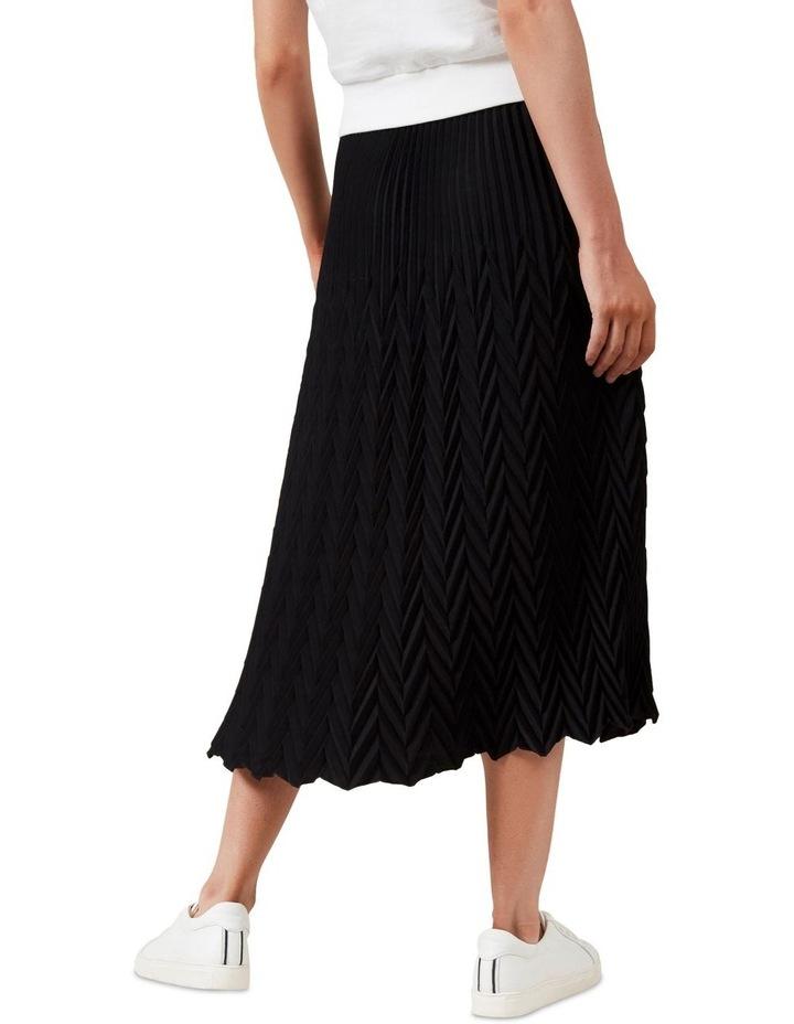 Chevron Midi Skirt image 3
