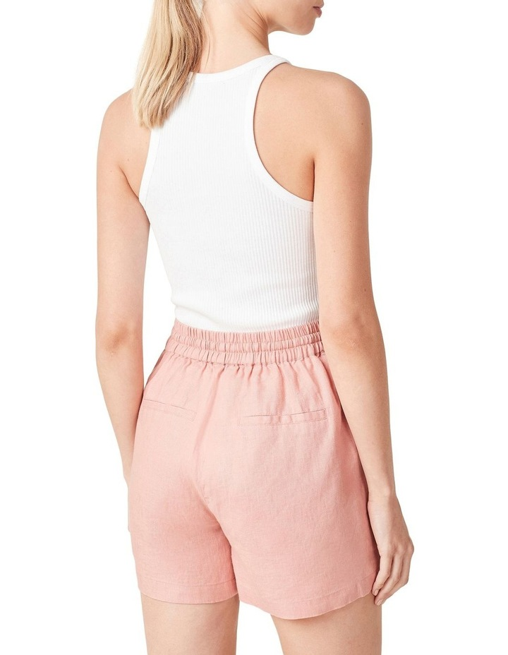 French Linen Relaxed Short image 3