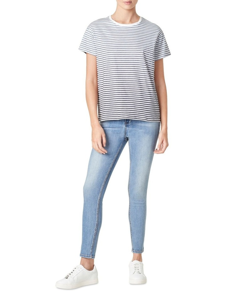 Ombre Stripe Relaxed T Shirt image 2