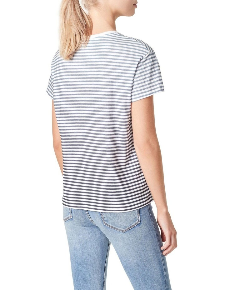 Ombre Stripe Relaxed T Shirt image 3