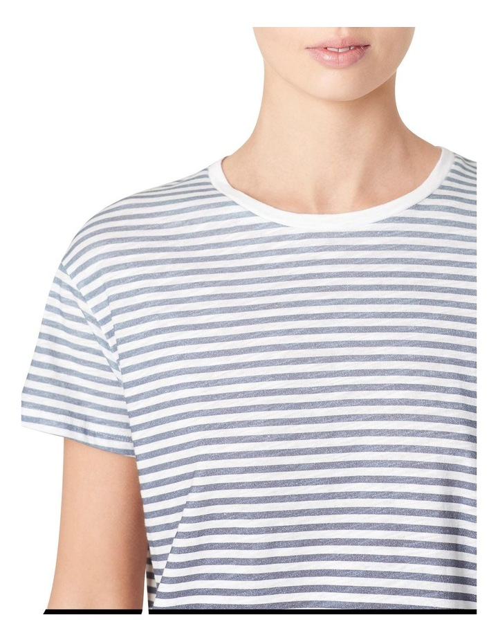 Ombre Stripe Relaxed T Shirt image 4