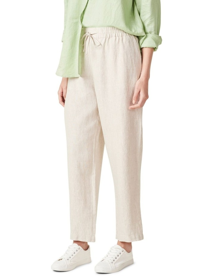 French Linen Relaxed Pant image 1