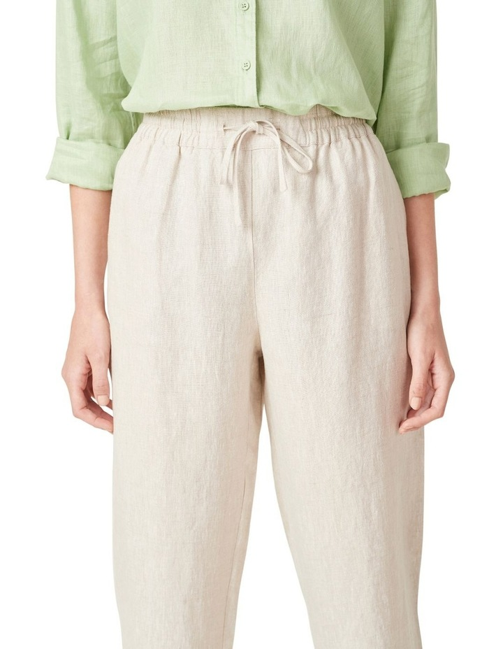 French Linen Relaxed Pant image 4