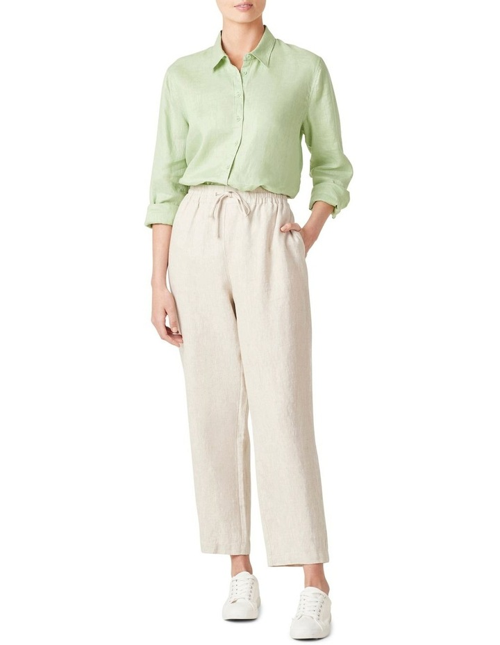French Linen Relaxed Pant image 5