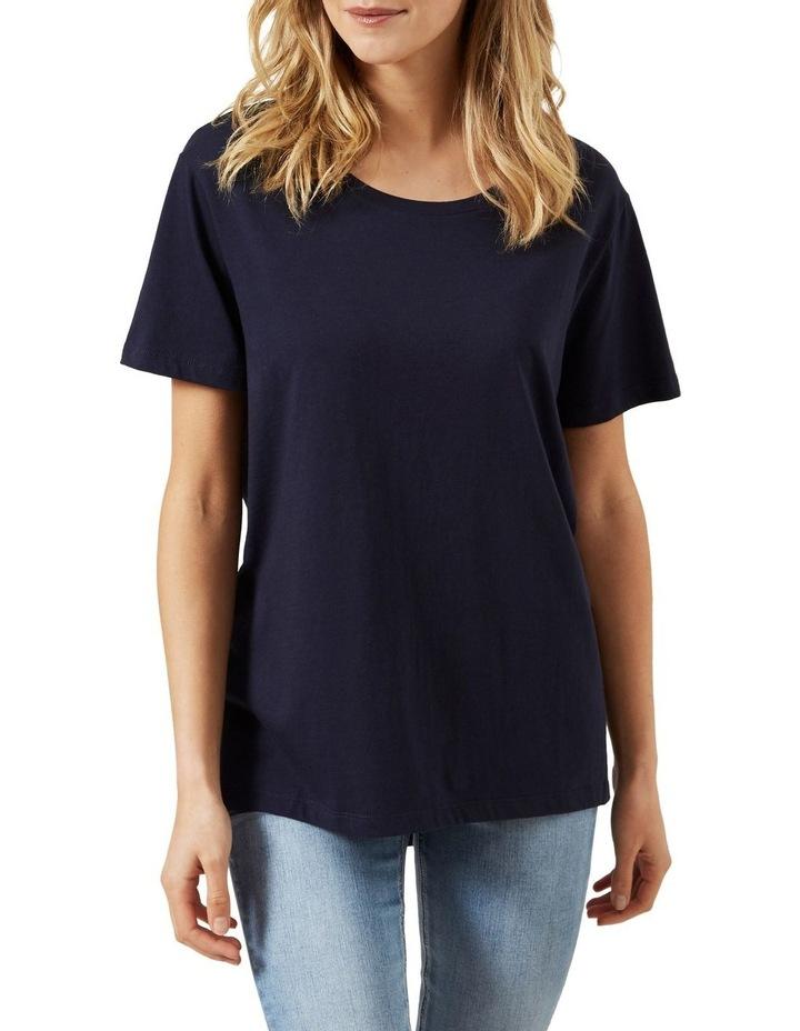 Dipped Hem T Shirt image 1