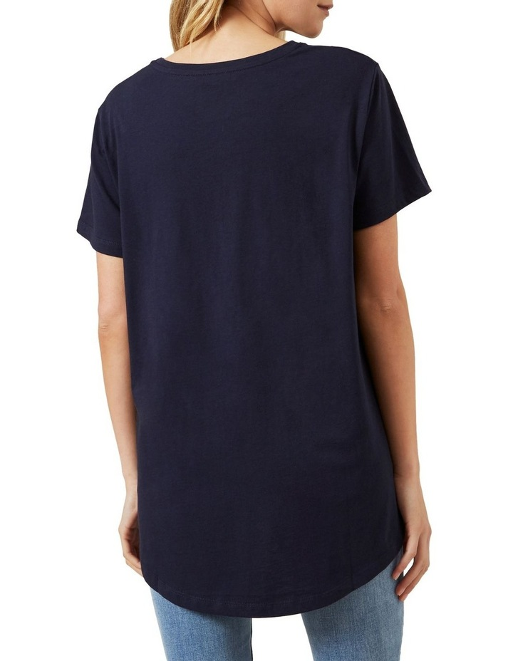 Dipped Hem T Shirt image 3