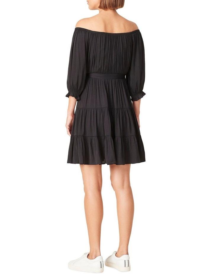 Off Shoulder Belted Dress image 3