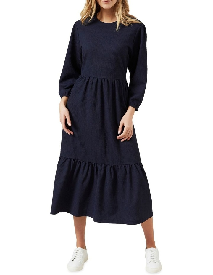 Jersey Tiered Midi Dress image 1
