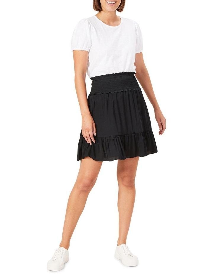 Shirred Waist Skirt image 2