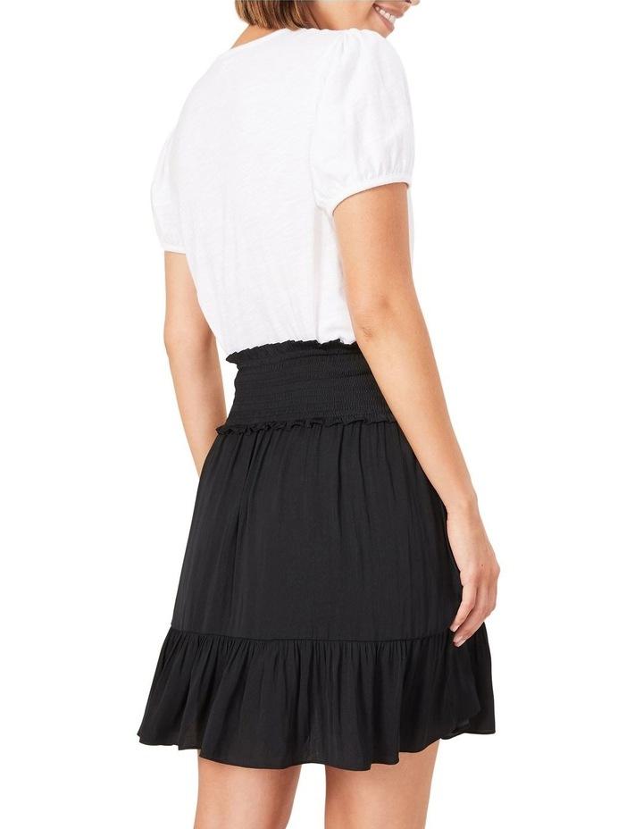 Shirred Waist Skirt image 3