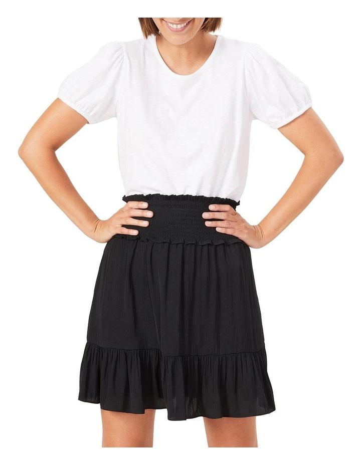 Shirred Waist Skirt image 5