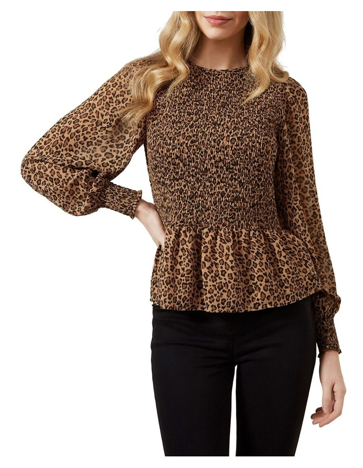 Shirred Animal Shirt image 1