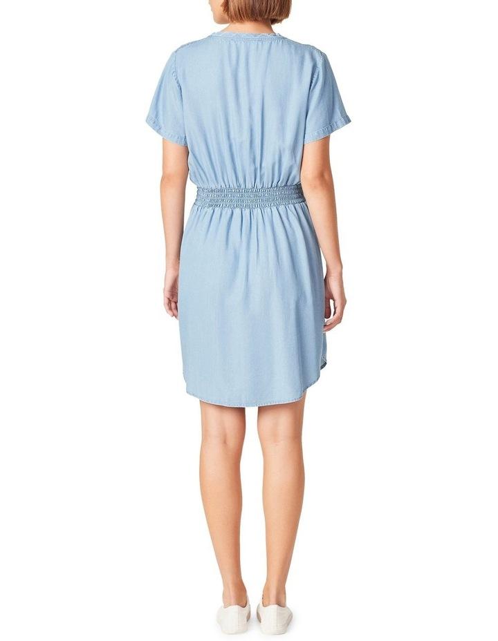 Tie Waist Lyocell Dress image 3
