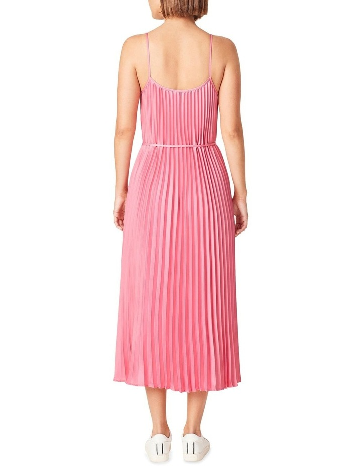 Pleated Midi Dress image 3